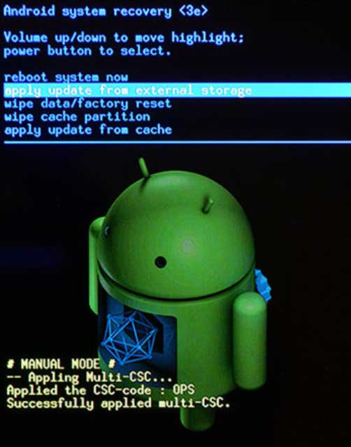Android system recovery 3e