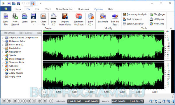 Swifturn Free Audio Editor новая версия для Windows 10, 7, 8, Xp, Vista
