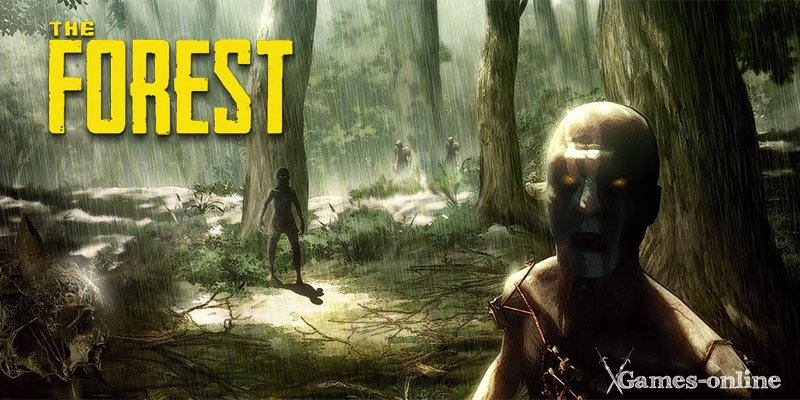 Хоррор игра The Forest