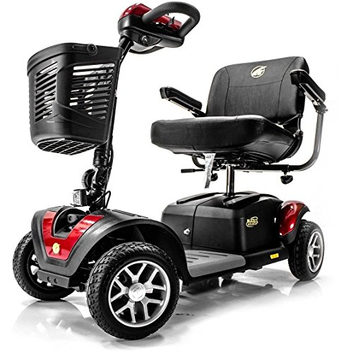 BUZZAROUND EX Extreme 4-Wheel Heavy Duty Long Range Travel Mobility Scooter