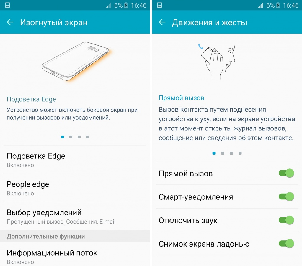 Обзор Samsung Galaxy S6 edge